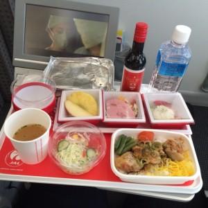 JL737便 機内食