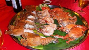 タイ風海鮮料理1