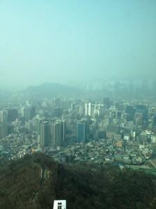 南山タワー展望室よりの眺め